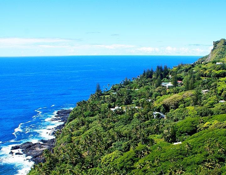 Pitcairn island Adamstown